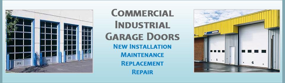 Commercial Garage Door Installation Repair Maryland Automotive High